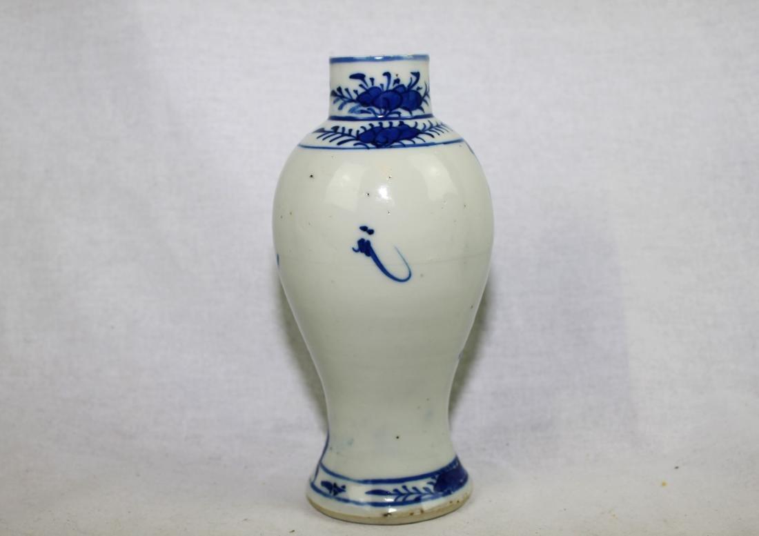 Chinese Blue&White Porcelain Vase - 6
