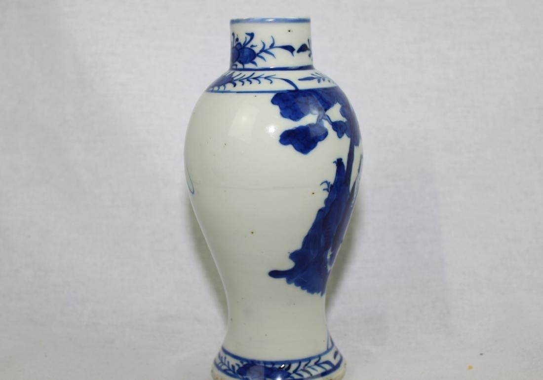 Chinese Blue&White Porcelain Vase - 7