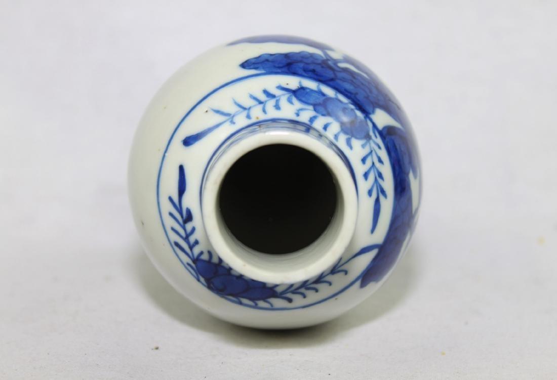 Chinese Blue&White Porcelain Vase - 8