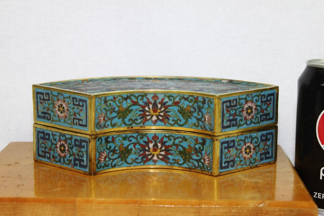 Antique Chinese Cloisonne Box Possibily Made around