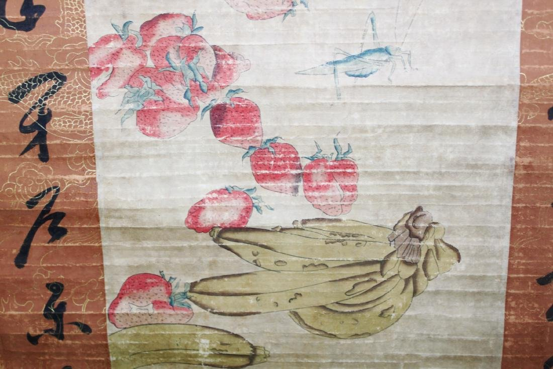 Antique Chinese Scroll Painting and Handwriting - 5