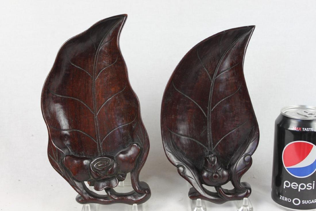 Hardwood Leaf Shape Plates