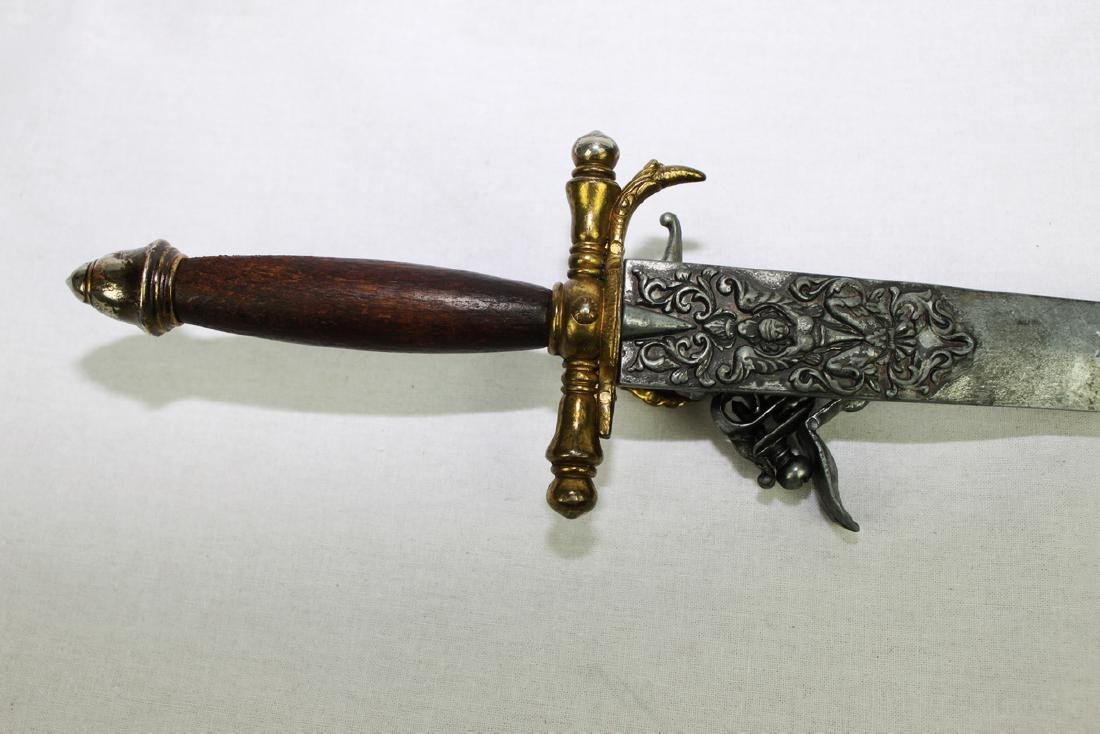 Antique Sword with Pop-gun Attached - 4
