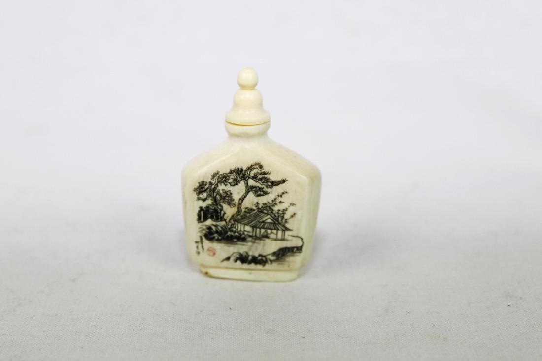 White Snuff Bottle