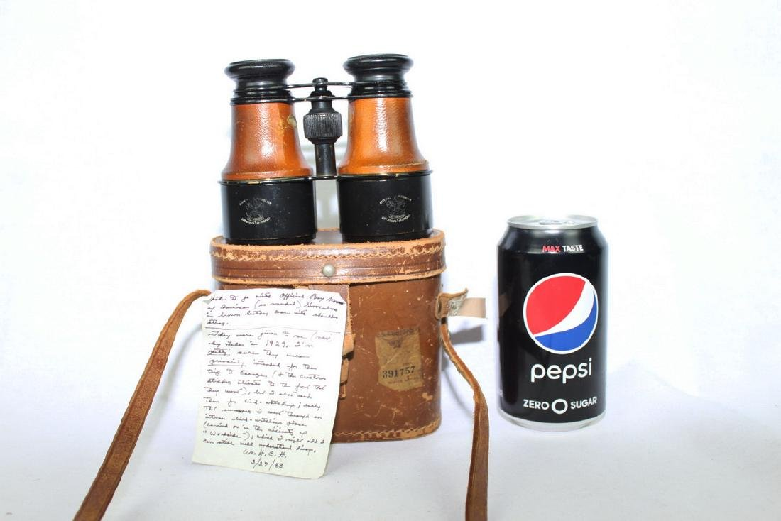 Antique Binoculars for Boy Scouts of America
