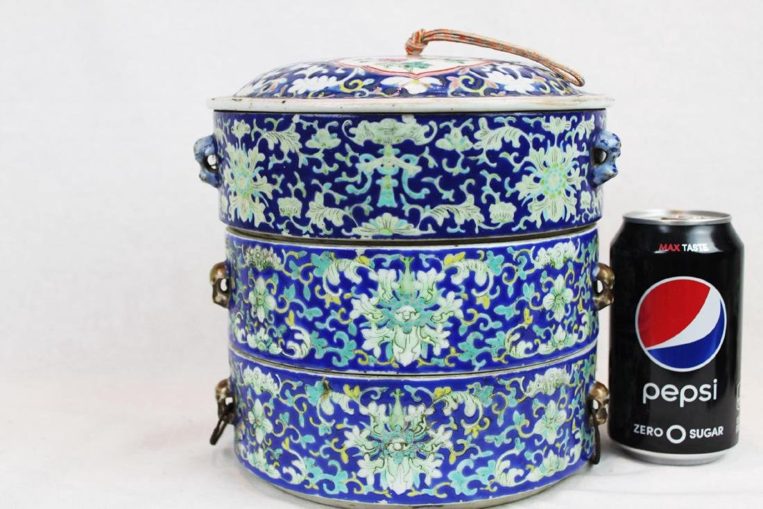 Antique Chinese Porcelain Containers