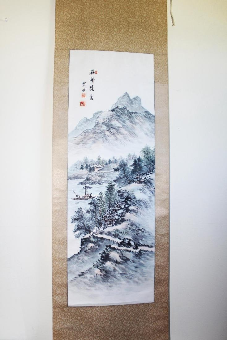 Chinese Scroll Hand Painting