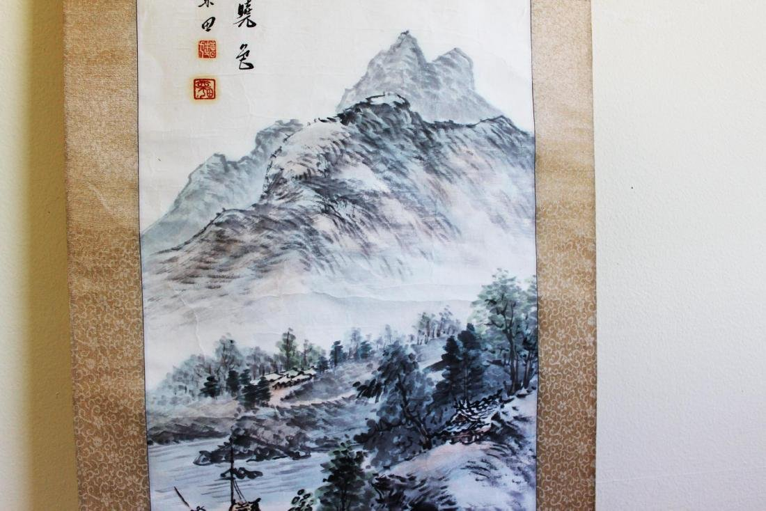 Chinese Scroll Hand Painting - 5