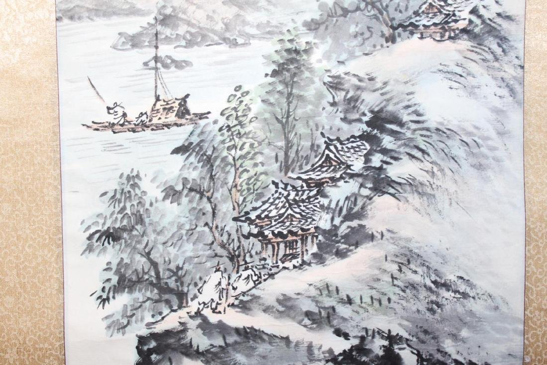 Chinese Scroll Hand Painting - 7
