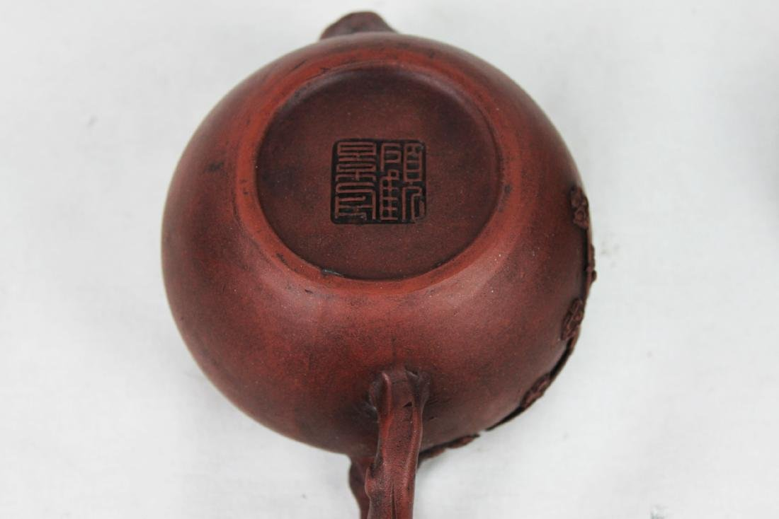 Chinese Zisha Teapot Made in Yixing - 9
