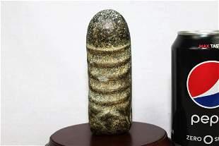 Antique Hand Carved Stone Dildo