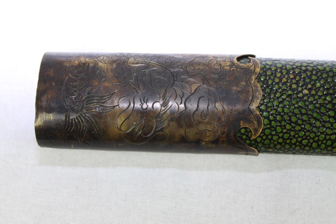 Antique Japanese Samurai Sword - 10