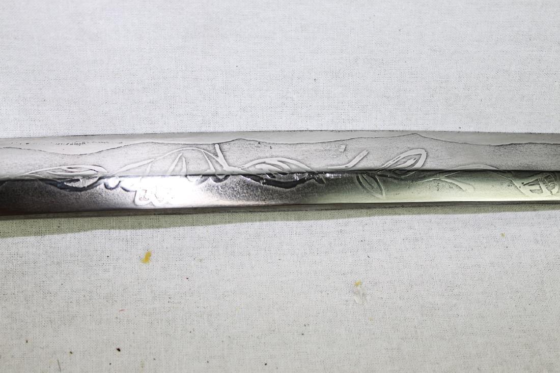 Antique Japanese Samurai Sword - 9