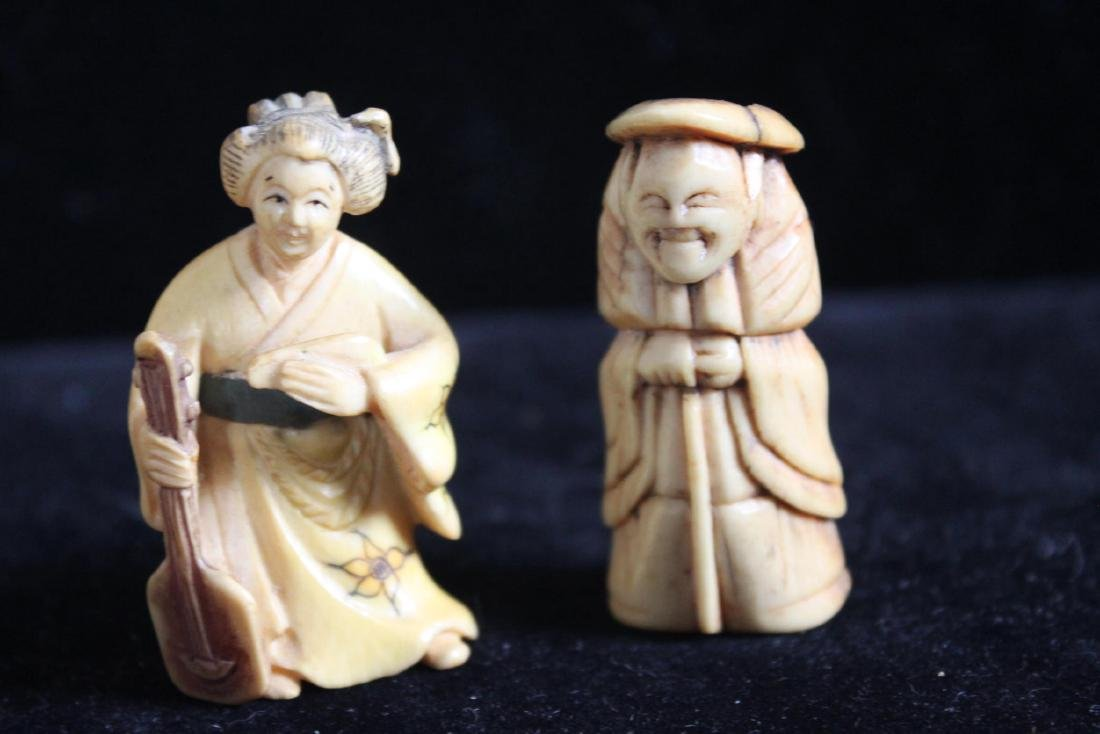 Hand Carved Figures - 2
