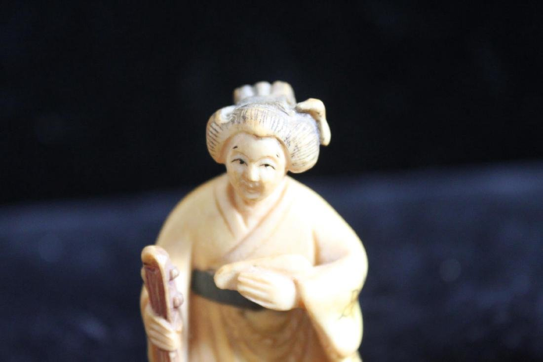 Hand Carved Figures - 3