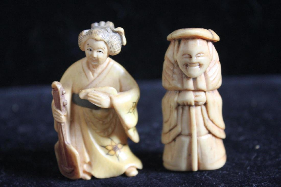 Hand Carved Figures - 9