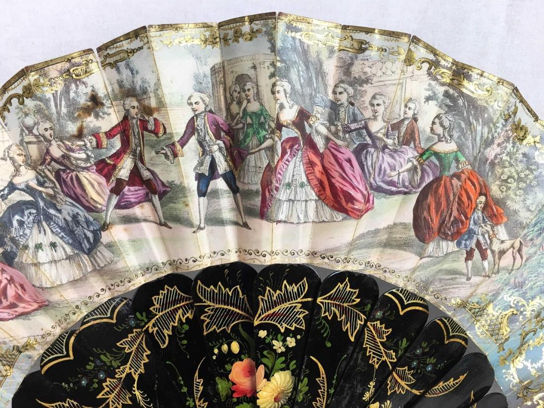Antique Folding Fan