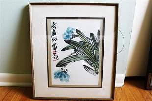Antique Chinese PaintingBaishi Qi