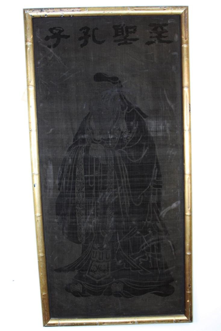 Antique Painting of Confucius