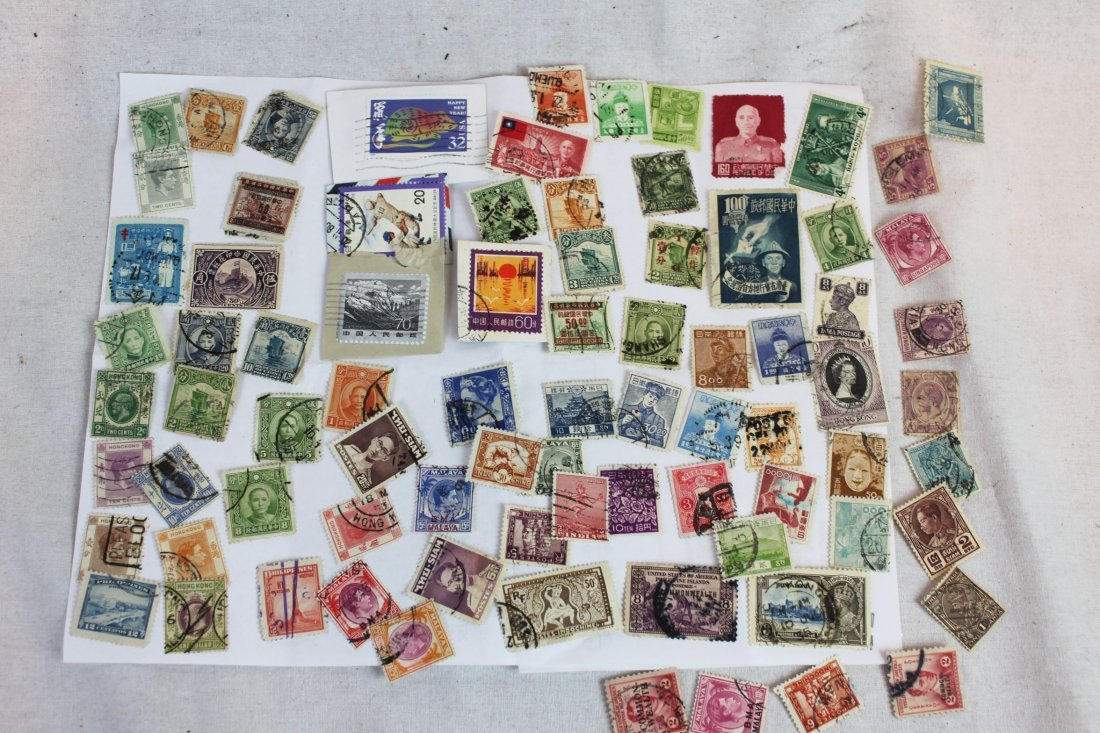 Chinese Stamps around 1900s