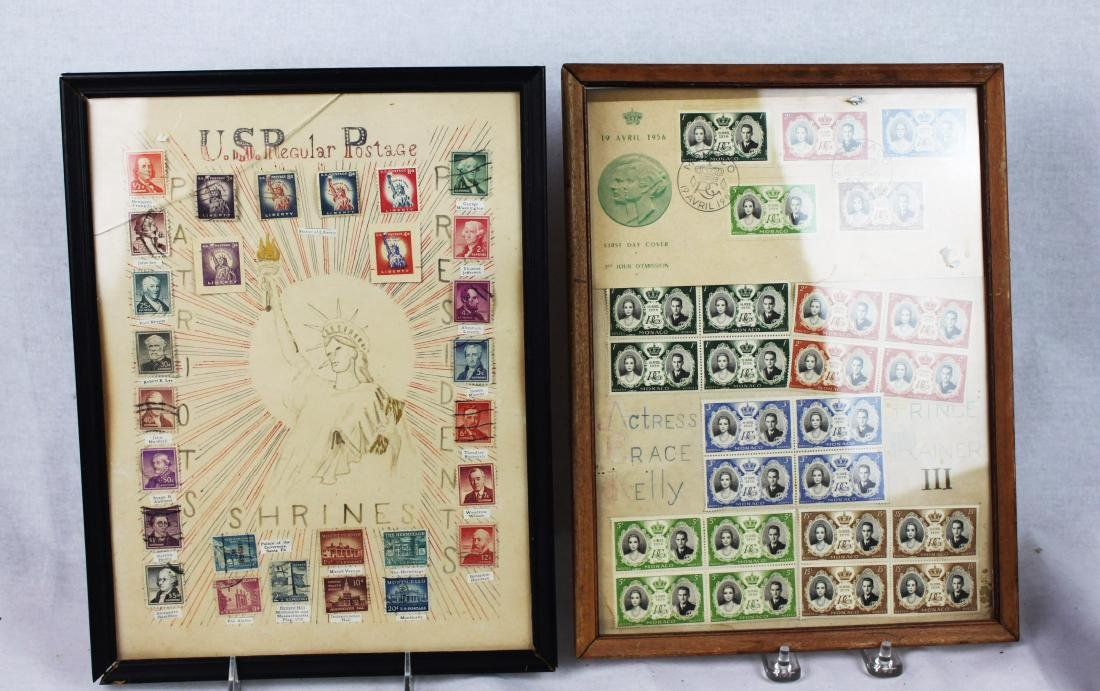 U.S. Presidents Stamps and Prince Rainer