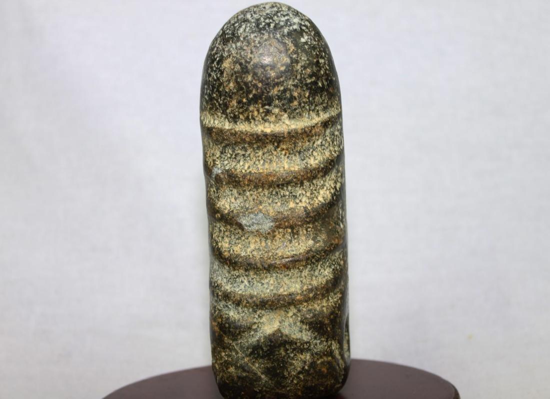 Antique Hand Carved Stone Dildo - 9