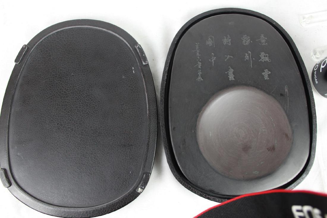 Antique Chinese Inkstone Pad - 10