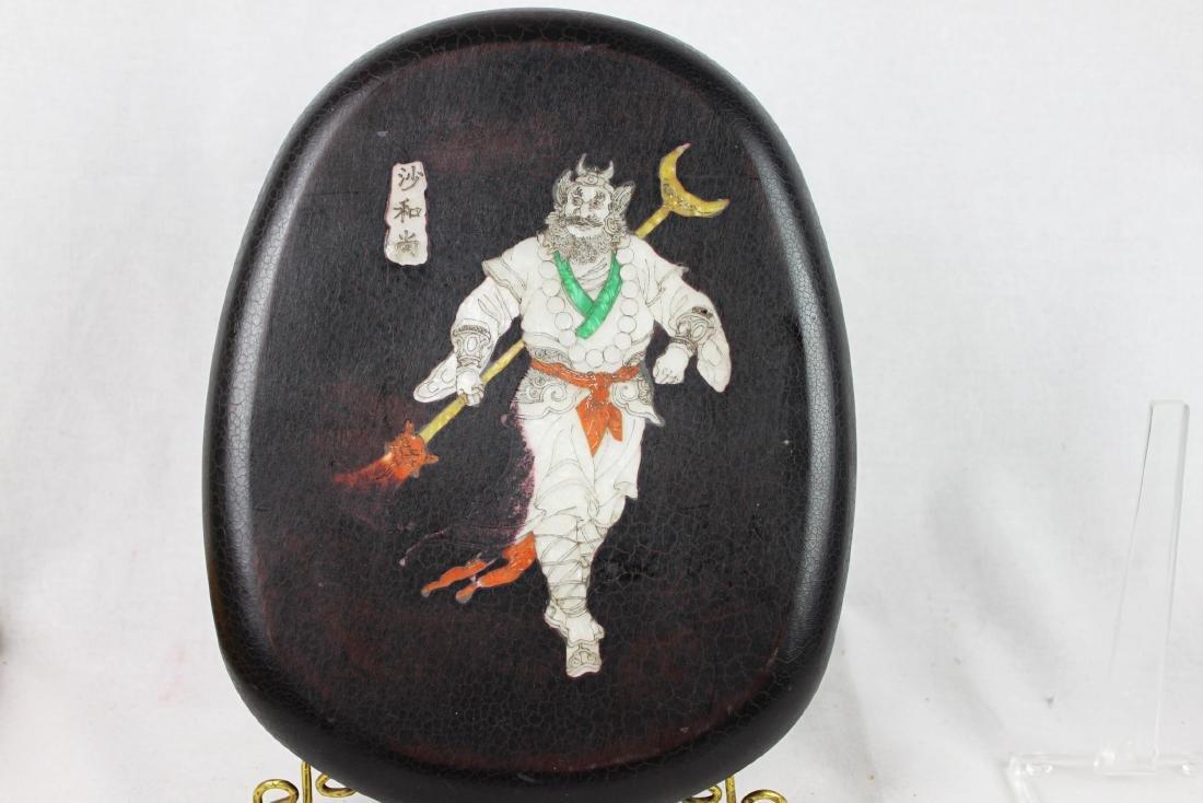 Antique Chinese Inkstone Pad - 8