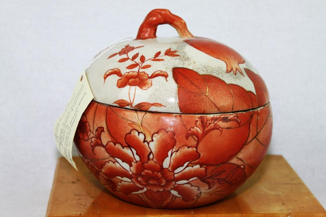 Antique Chinese Porcelain Pot early 20th centruy - 2