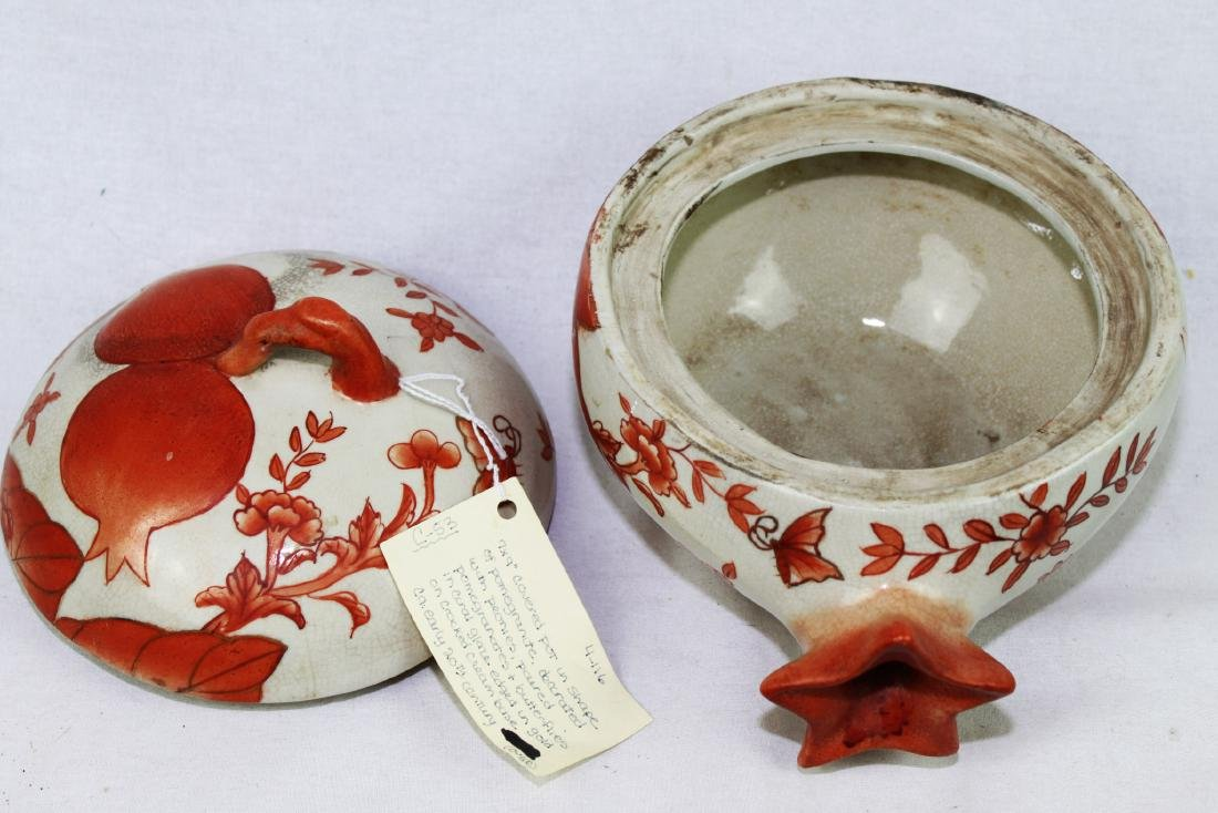 Antique Chinese Porcelain Pot early 20th centruy - 5