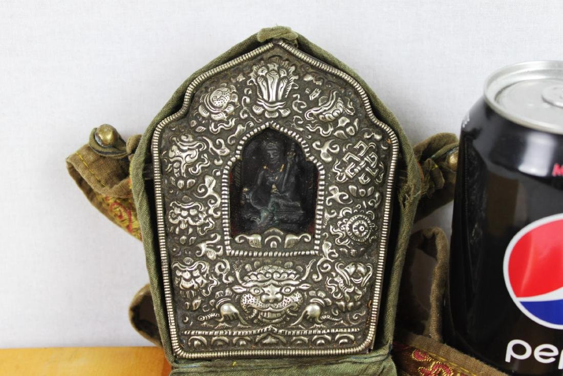 Antique Tibetan Statue in Bronze Box