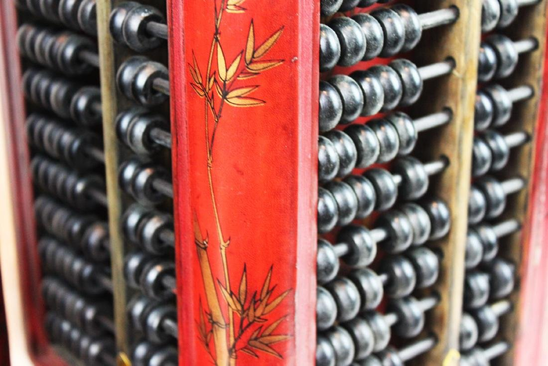 A Pair of Antique Abacus Lamp - 9