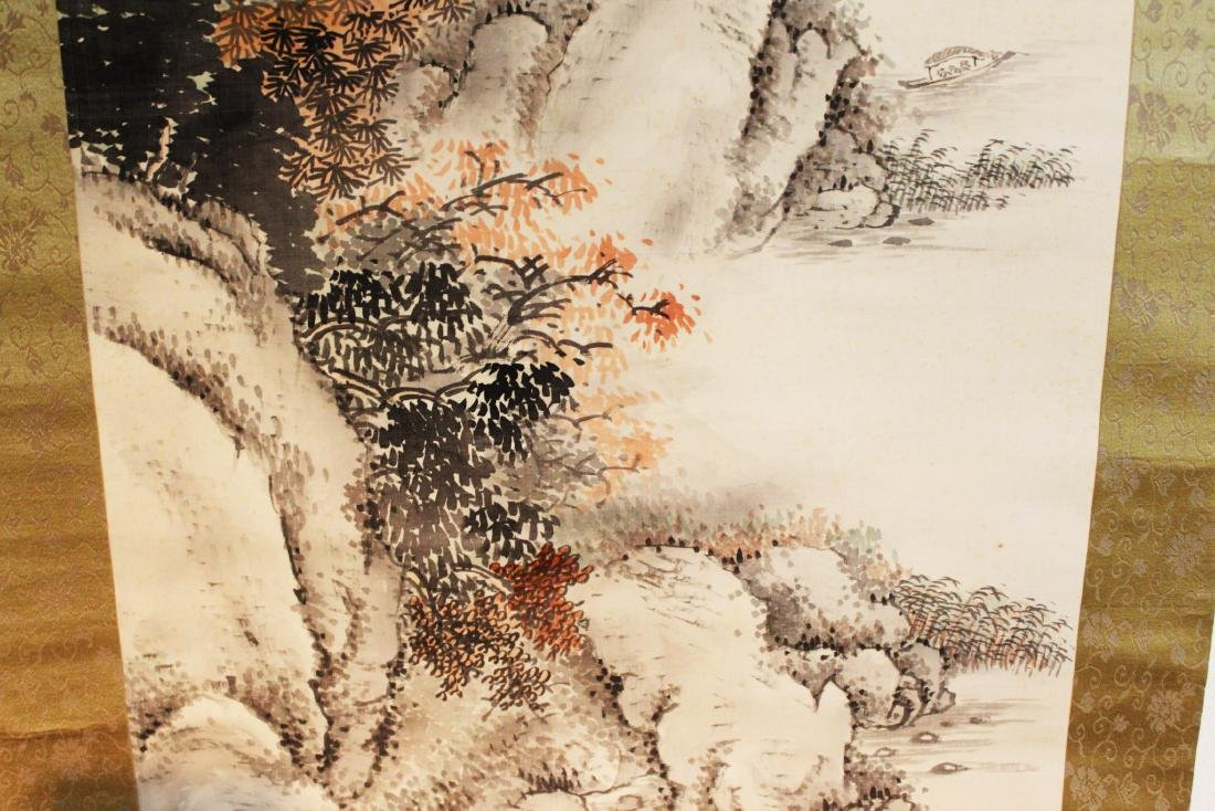 Antique Chinese Brush Scroll Painting - 6