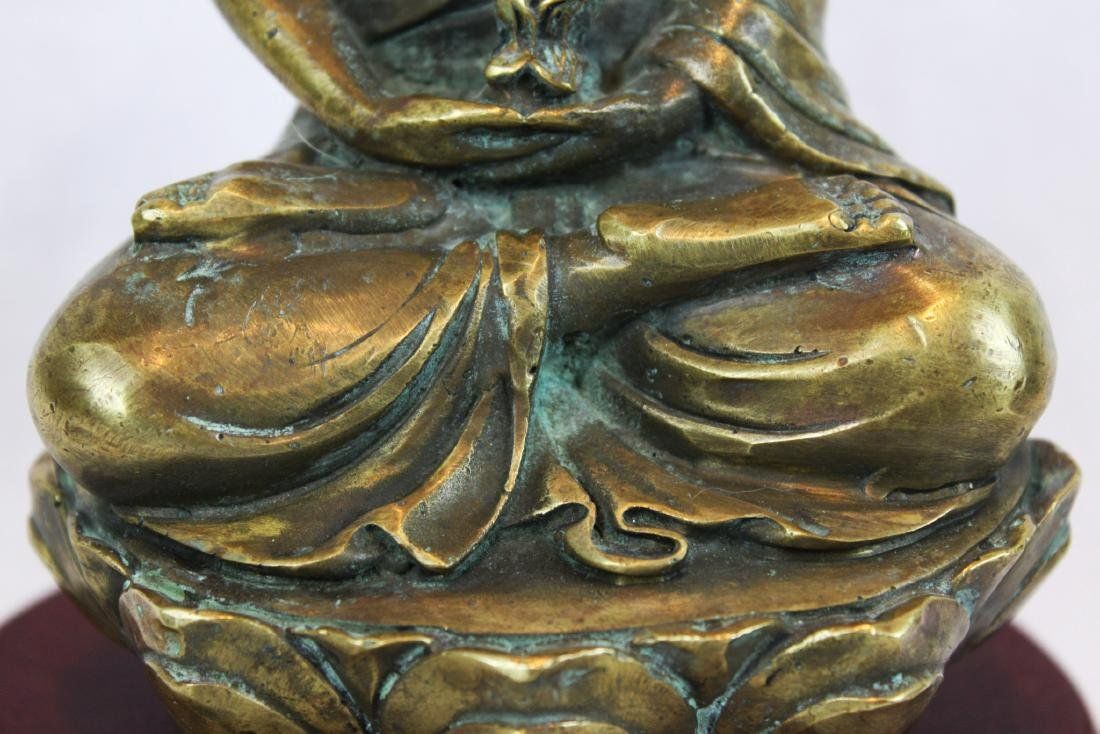 Antique Bronze Buddha Statue - 4