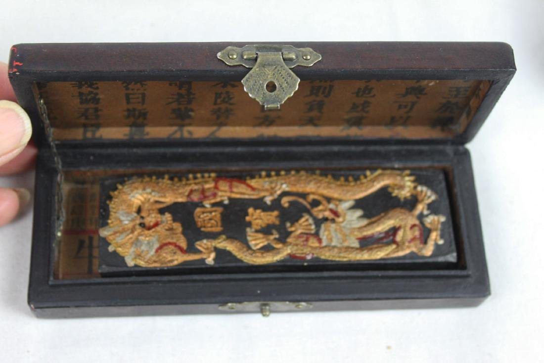 Antique Chinese Ink boxes. - 3