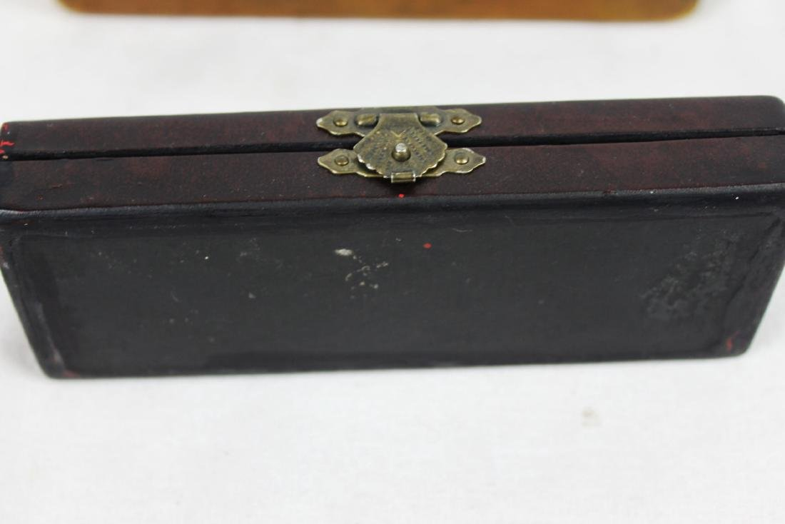 Antique Chinese Ink boxes. - 4