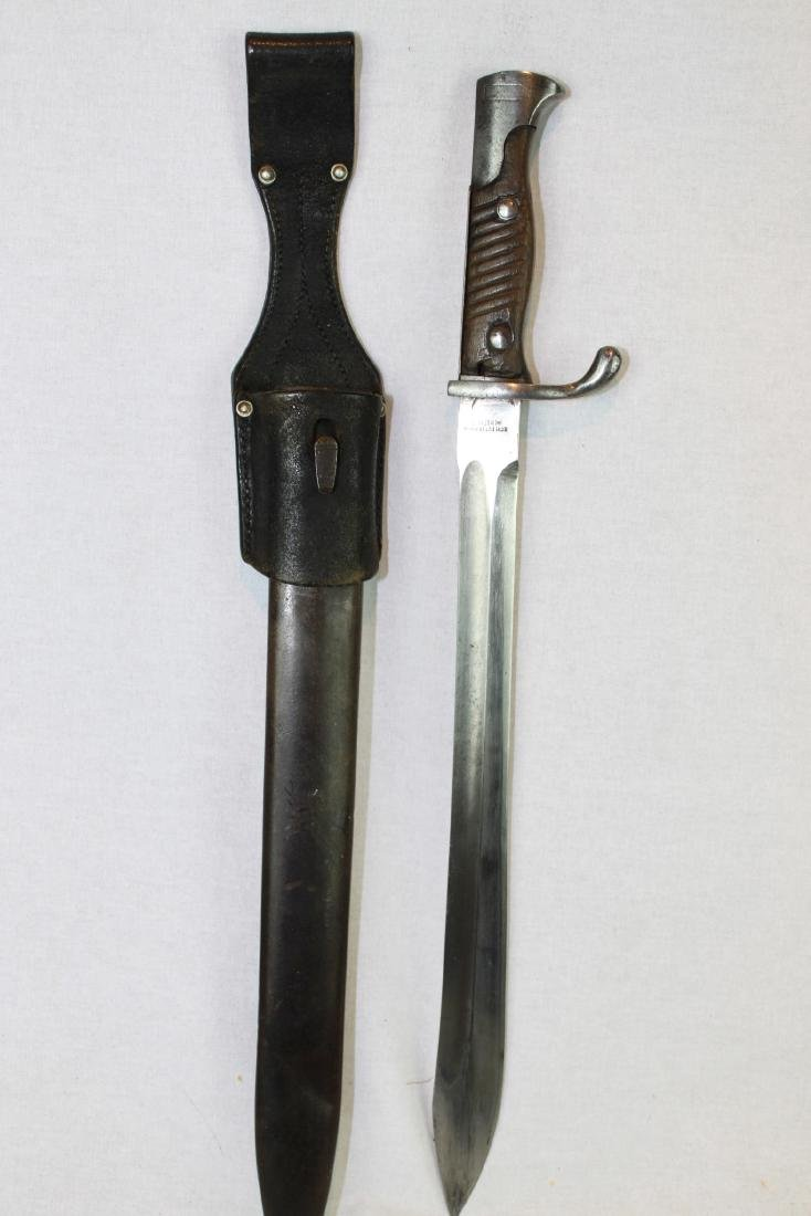 Antique WWI German Butcher Bayonet Around 1900s - 10