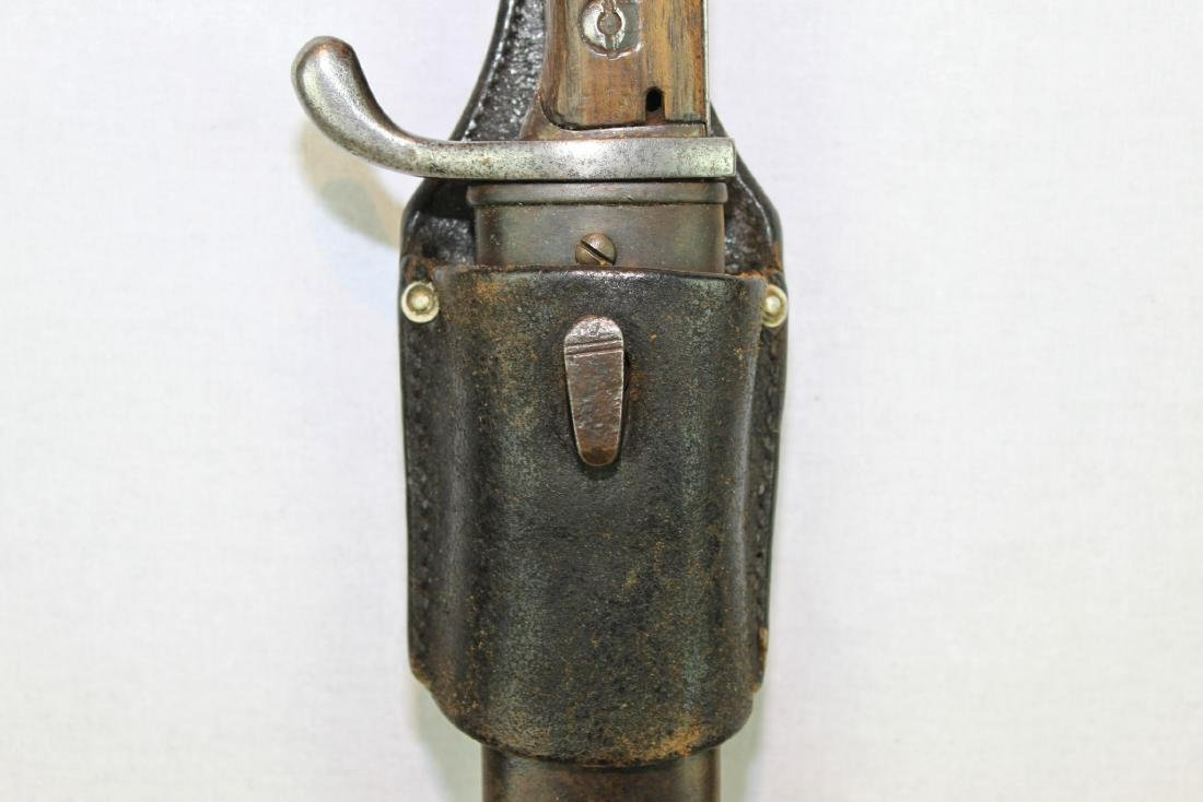 Antique WWI German Butcher Bayonet Around 1900s - 3
