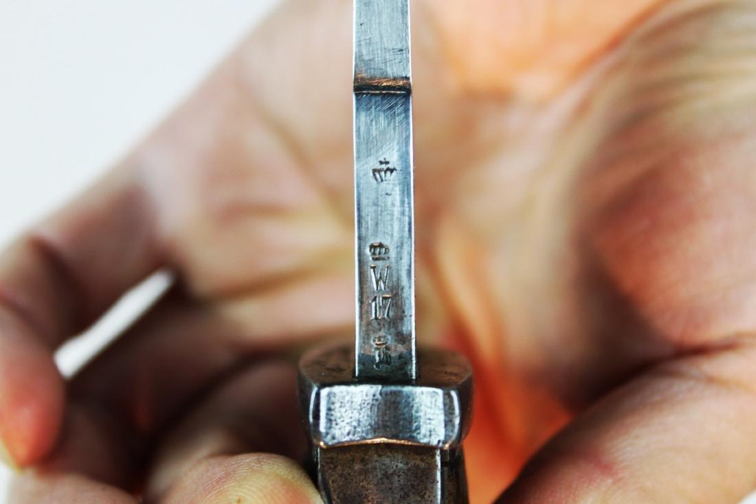 Antique WWI German Butcher Bayonet Around 1900s - 7