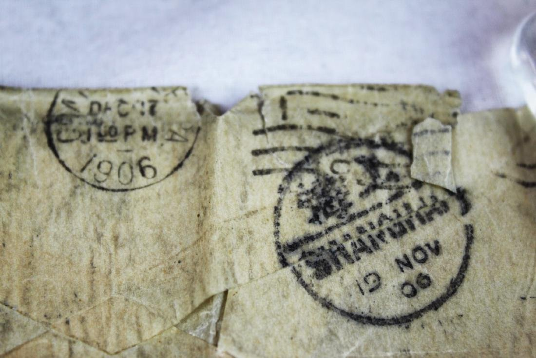 Antique Chinese Dragon Stamps from 1900s' - 6