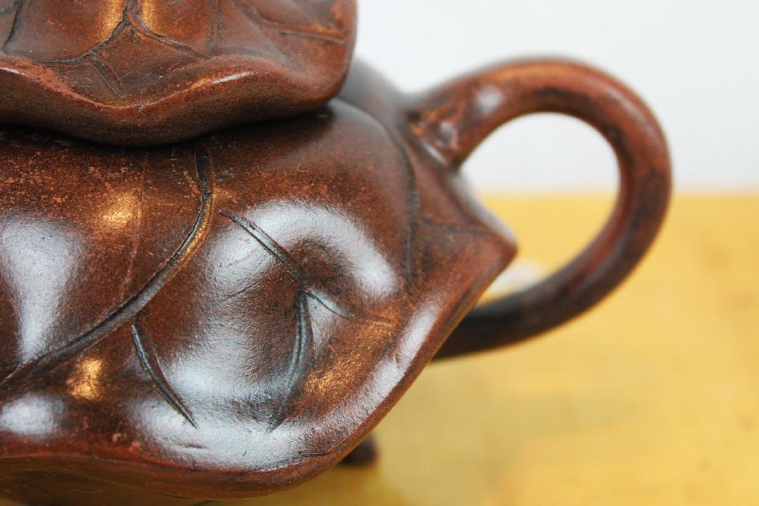 Chinese Yixing Tea Pot - 4