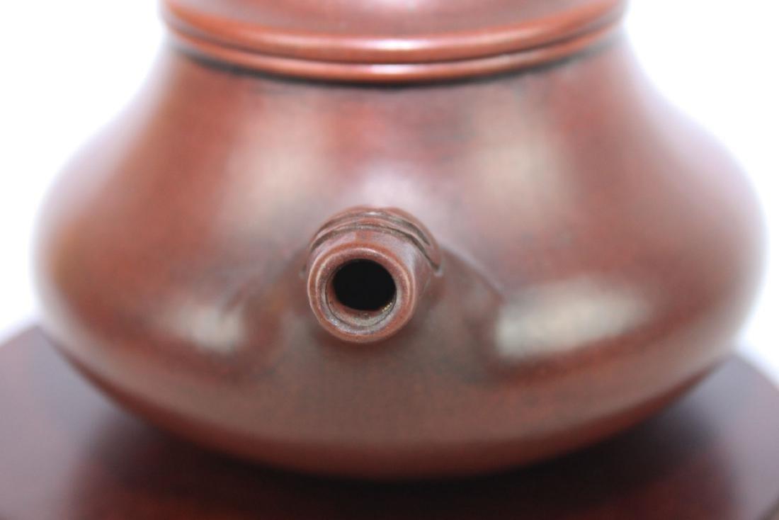 Chinese Yi Xing Zisha Teapot - 10