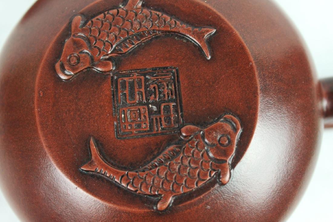 Chinese Yi Xing Zisha Teapot - 4