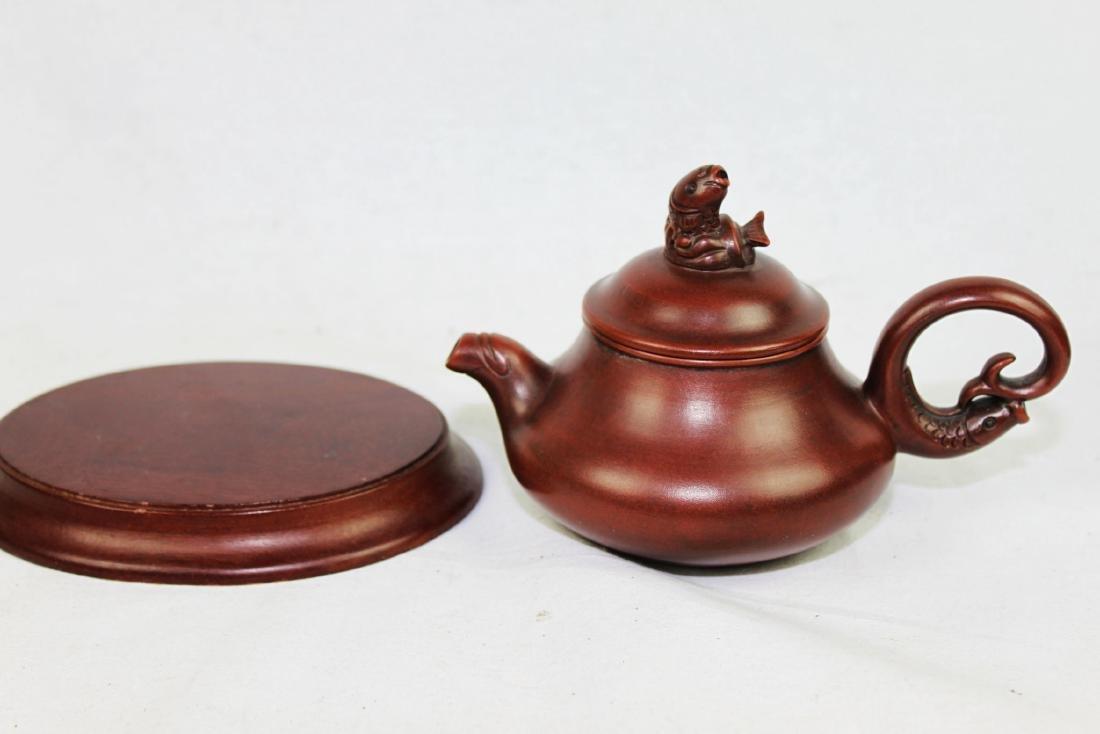 Chinese Yi Xing Zisha Teapot - 7