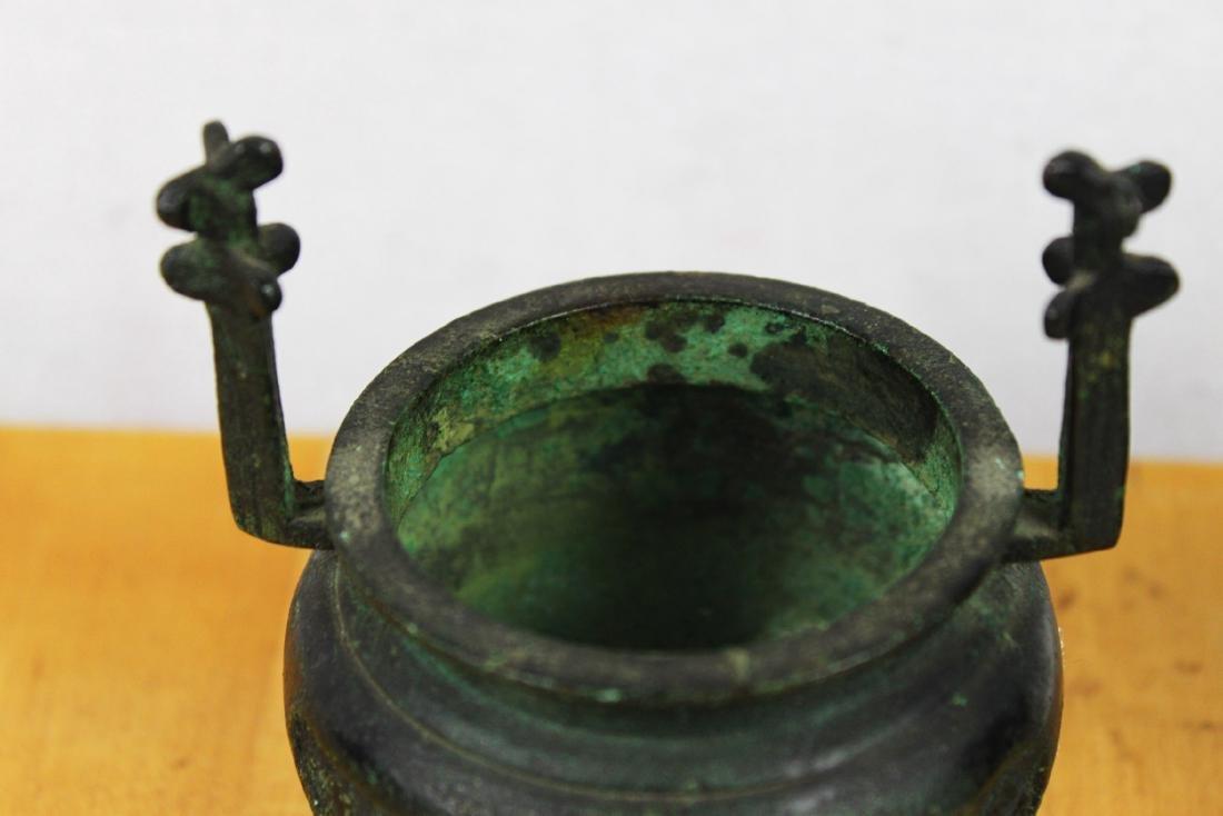 Antique Bronze Incense Burner - 2