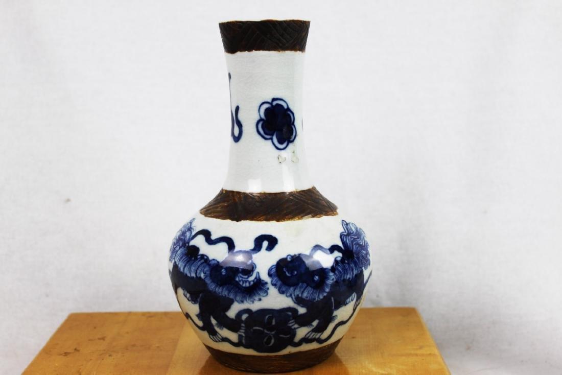 Antique Blue&White Porcelain Vase