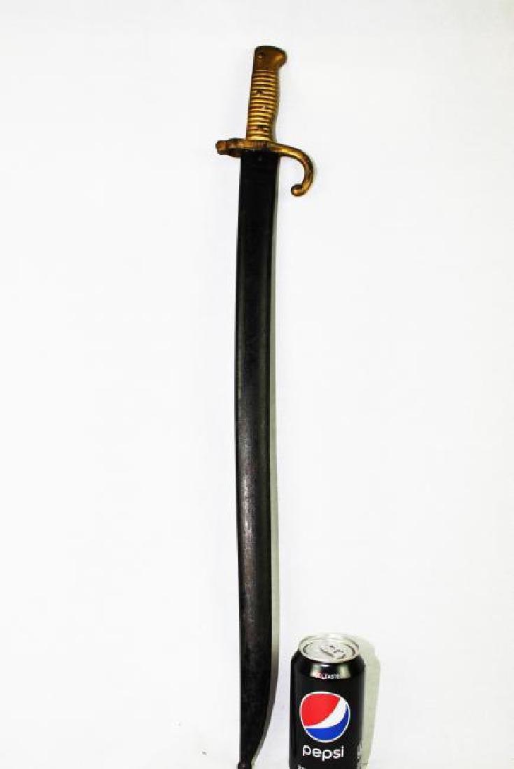 Antique French Saber Bayonet 19th Century