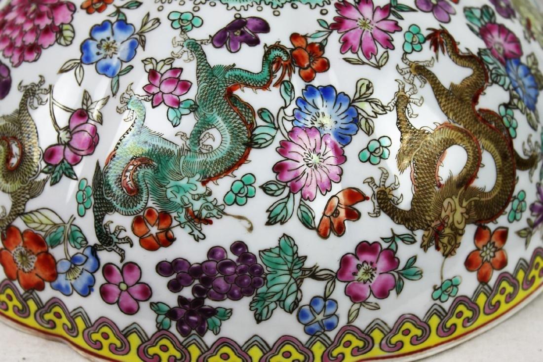Antique Chinese Wucai Porcelain Bowl 19th Century - 10