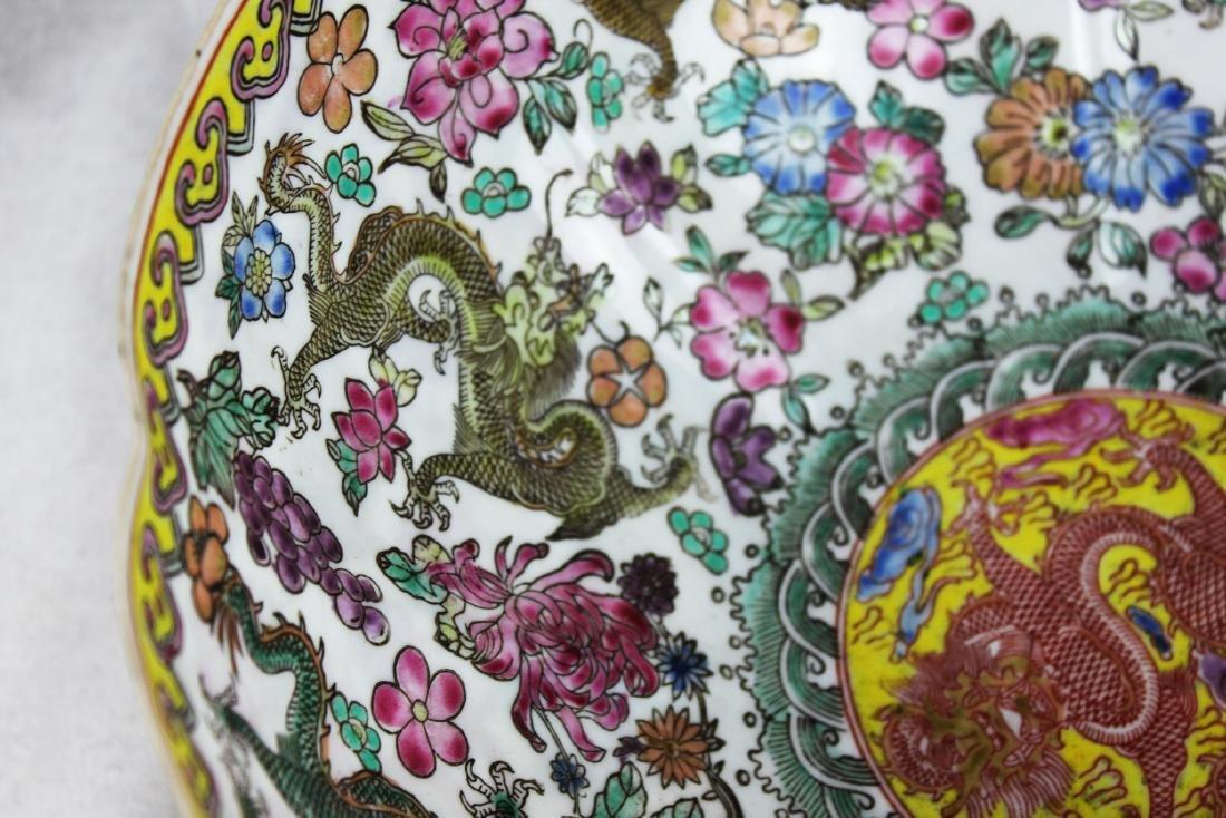 Antique Chinese Wucai Porcelain Bowl 19th Century - 4
