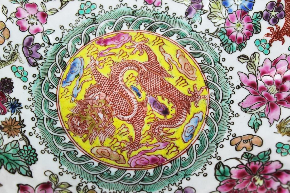 Antique Chinese Wucai Porcelain Bowl 19th Century - 5